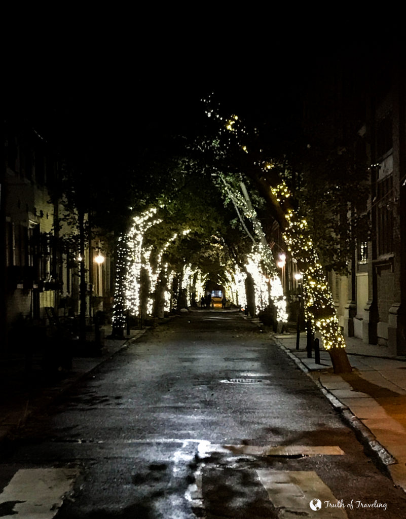 Delancey Street Christmas Trees.10 Things To See In Philly In The Winter Truth Of Traveling