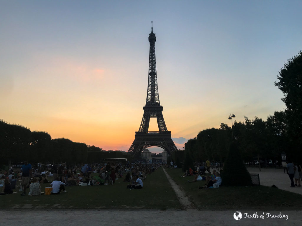 First Time Guide To The Eiffel Tower Truth Of Traveling
