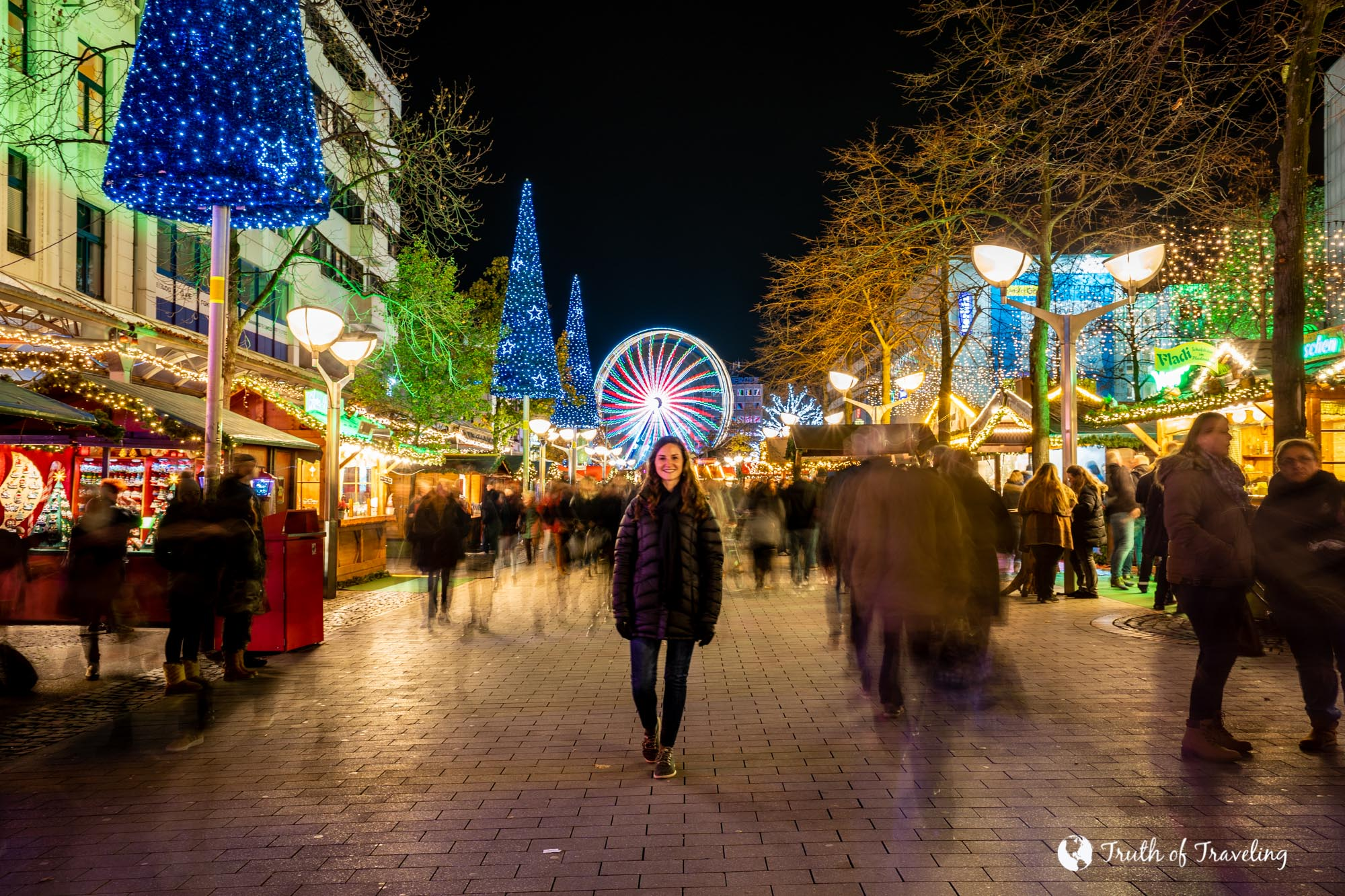 Visiting a German Christmas Market